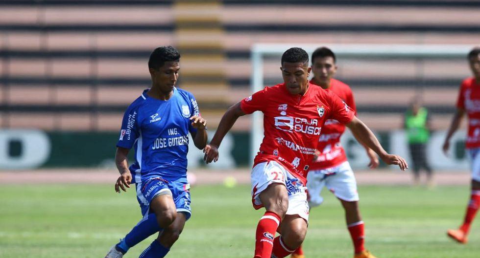 Cienciano chocó contra Santos FC por el Cuadrangular Final de ascenso, el cual se jugó en el estadio Miguel Grau del Callao.(Foto: Jesús Saucedo)