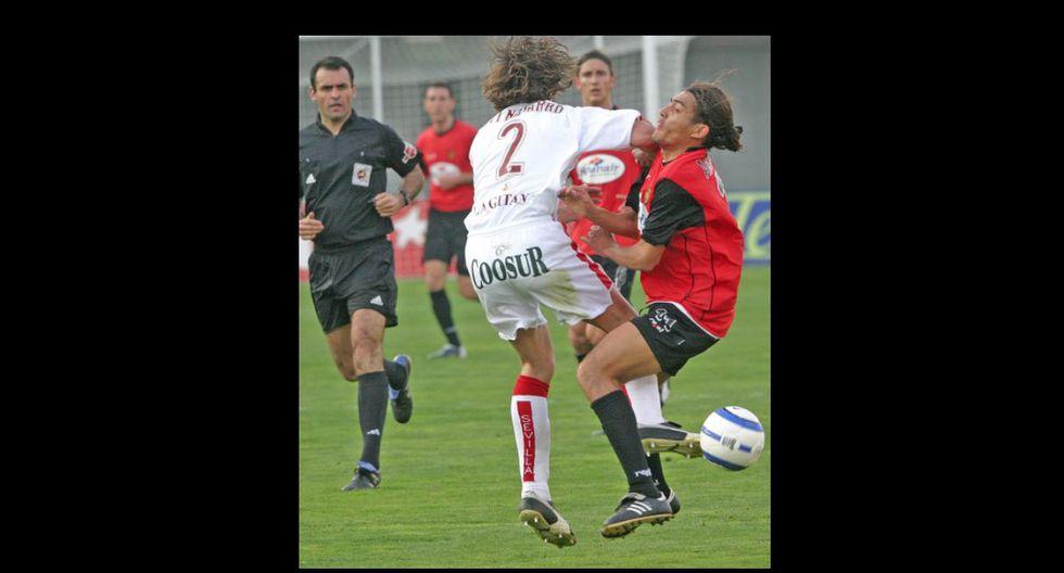 Javi Navarro le propinó un codazo a Juan Arango en el partido de Liga Mallorca-Sevilla de 2005. Arango sufrió fuertes daños y pasó la noche en el hospital.