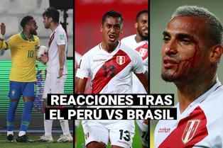 Perú vs. Brasil: Las reacciones de los futbolistas de la selección tras el polémico arbitraje