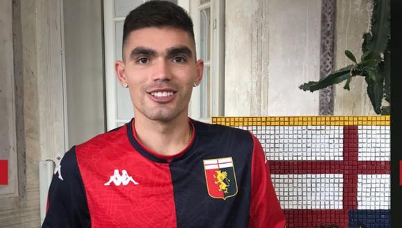 Johan Vásquez llegó al Genoa procedente de los Pumas (Foto: @GenoaCFC)