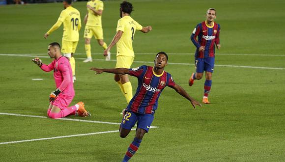 Fati juega su segunda temporada profesional en el Barcelona. (Reuters)