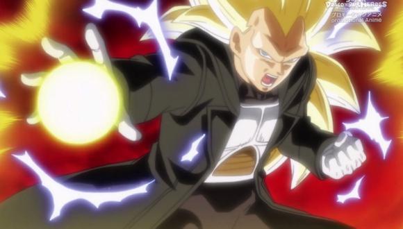 Dragon Ball Heroes SUB ESPAÑOL capítulo 24 por YouTube: Vegeta alcanza el Super Saiyan 3. (Foto: Toei Animation)