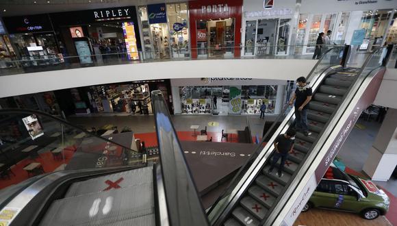 Reducen aforo de centros comerciales. (Foto: Francisco Neyra | GEC)