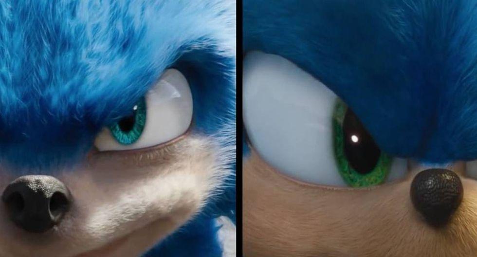 """""""Sonic: La Película"""": se tardaron cinco meses para rediseñar al erizo más querido de todos."""