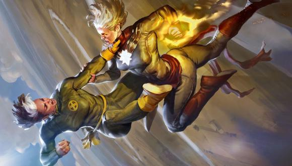 "Marvel: Rogue sería la villana principal de ""Capitana Marvel 2″ (Javier Charro - ArtStation)"