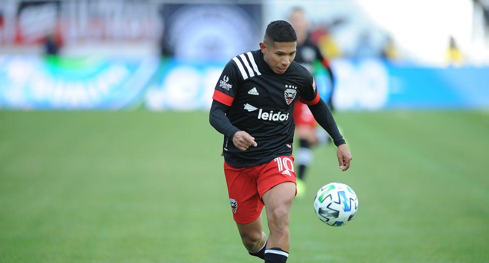 Edison Flores tiene contrato con DC United hasta el 2024 (Foto: Getty Images)