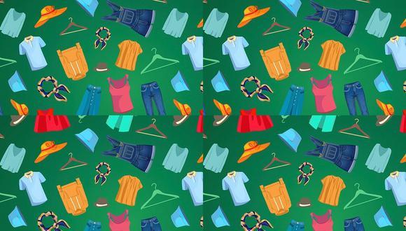 ¿Puedes hallar a la polilla oculta entre la ropa? Tienes 20 segundos. (Foto: CLEANIPEDIA)