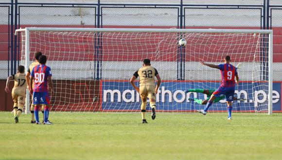 Con gol de Carlos Neumann desde los doce pasos, Alianza Universidad se quedó con los tres puntos (Foto:LIGA 1)