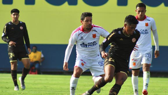 Atlético Grau y UTC de Cajamarca empataron sin goles en la VIDENA. (Foto: Liga 1)