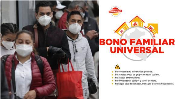 Bono Familiar Universal: consulta aquí plataforma oficial del Midis