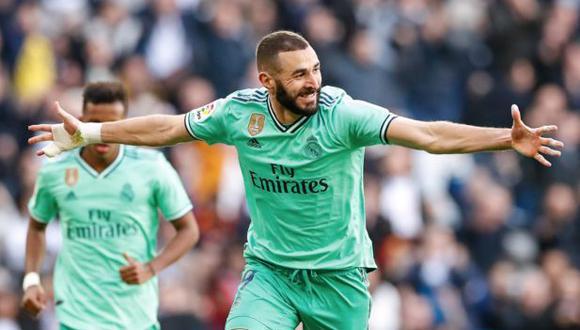 Karim Benzema anotó y dio asistencia ante Espanyol por LaLiga