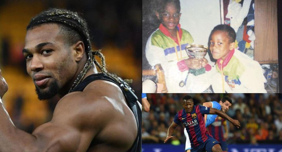 Así fue el cambio físico de Adama Traoré en su carrera profesional. (Fotos: Difusión)