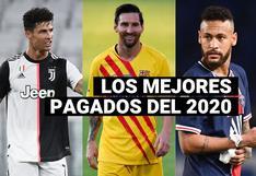 Los futbolistas más ricos del 2020 y de la década