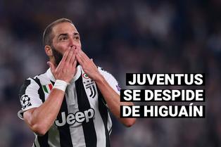 Juventus se despide de Gonzalo Higuaín: ¿Cuál será el futuro del delantero argentino?