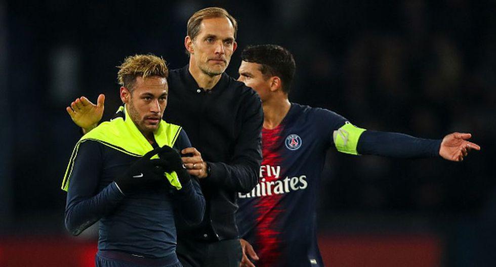 El mensaje del DT del PSG ante la posible salida de Neymar. (Getty)