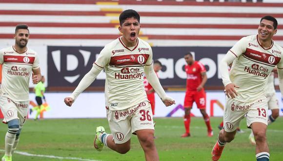 Universitario y Sport Huancayo jugaron en el Miguel Grau. (Foto: Liga 1)