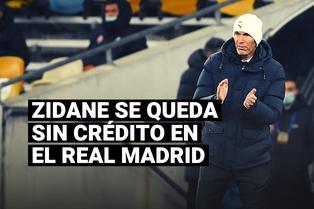 Real Madrid: Zinedine Zidane se va quedando sin crédito y ya tendría reemplazo