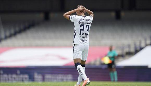 Nicolás Freire es una de las piezas elementales de los Pumas UNAM en el Torneo Apertura 2021 de la Liga MX. (Foto: Imago 7)