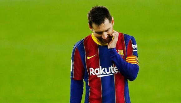 Lionel Messi acaba contrato con el FC Barcelona al final de temporada. (Foto: Reuters)