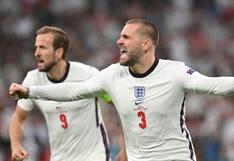 No tiene límites: Luke Shaw jugó la fase final de la Eurocopa con varias costillas rotas