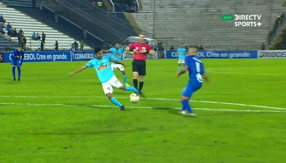 Kevin Sandoval marcó el gol de la victoria para Sporting Cristal ante Zulia FC. (Video: DirecTV Sports)