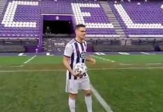 Ya es viral: Ben Arfa se negó a cabecear la pelota para no despeinarse en su presentación en el Valladolid de Ronaldo [VIDEO]