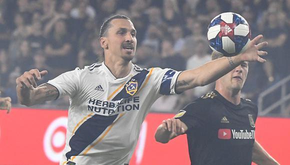 Zlatan Ibrahimovic jugó dos temporadas con el Galaxy. (Foto: Getty Images)
