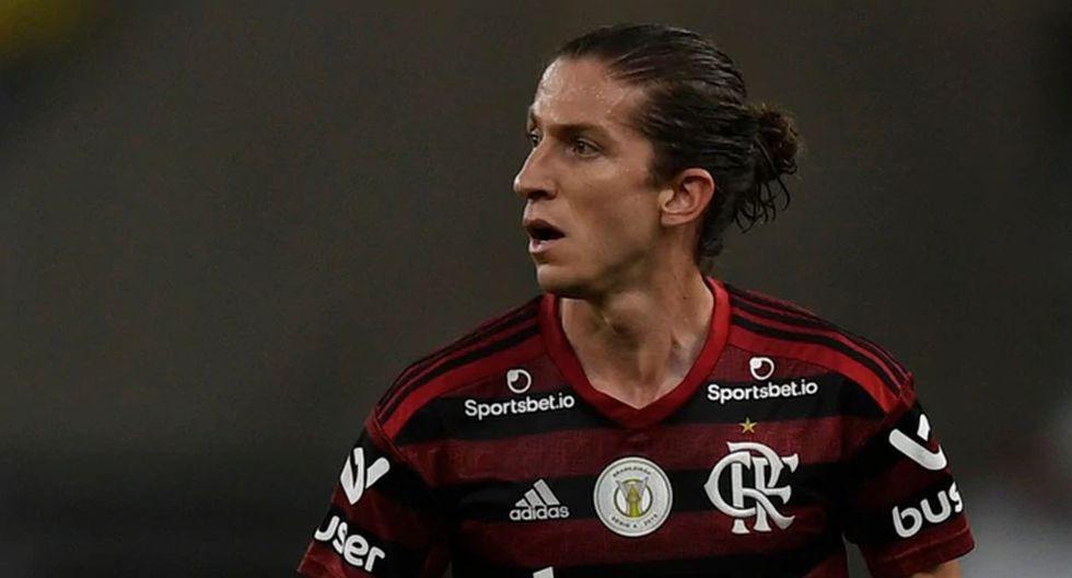 Filipe Luis | Flamengo. (Foto: Agencias)