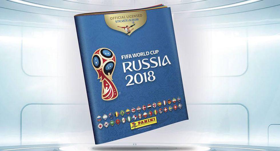 Mundial Rusia 2018: Panini anunció la tapa oficial del albúm con la bandera de Perú. (Panini)