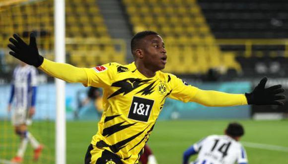 Youssoufa Moukoko fue convocado por la Selección de Alemania Sub 21. (Foto: Getty Images)