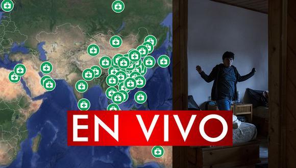 Conoce el mapa de los casos curados por coronavirus en Google Maps. Sigue minuto a minuto y en directo la tendencia de las personas que superaron el COVID-19. (Foto: AFP)