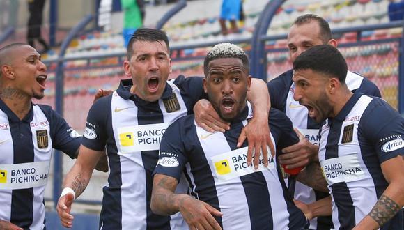 Farfán marcó un golazo con Alianza Lima ante Binacional (Foto: Liga 1)