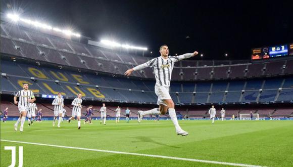 Juventus se cobró una revancha contra Barcelona en las redes sociales. (Foto: Juventus)