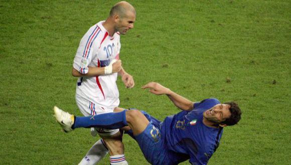 Marco Materazzi habló sobre el Real Madrid de Zidane.