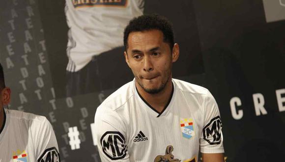 Carlos Lobatón ocupa el cargo de Coordinador de Fútbol Profesional en Sporting Crista. (Foto: GEC)