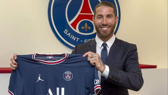 Sergio Ramos firmó con el club parisino por las próximas dos temporadas. (Foto: PSG)