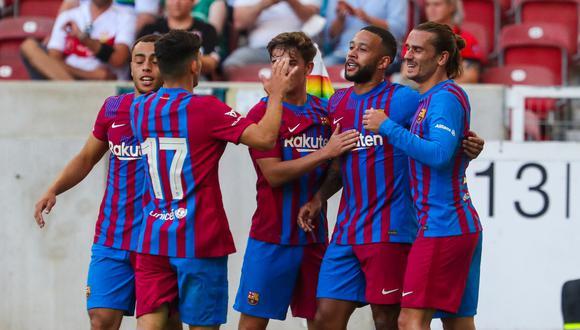 Barcelona sumó su tercera victoria seguida en la pretemporada. (Foto: @FCBarcelona_es)