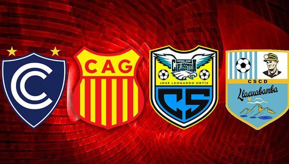 Cienciano, Atlético Grau, Carlos Stein y Deportivo Llacuabamba son los nuevos inquilinos de la Liga 1.