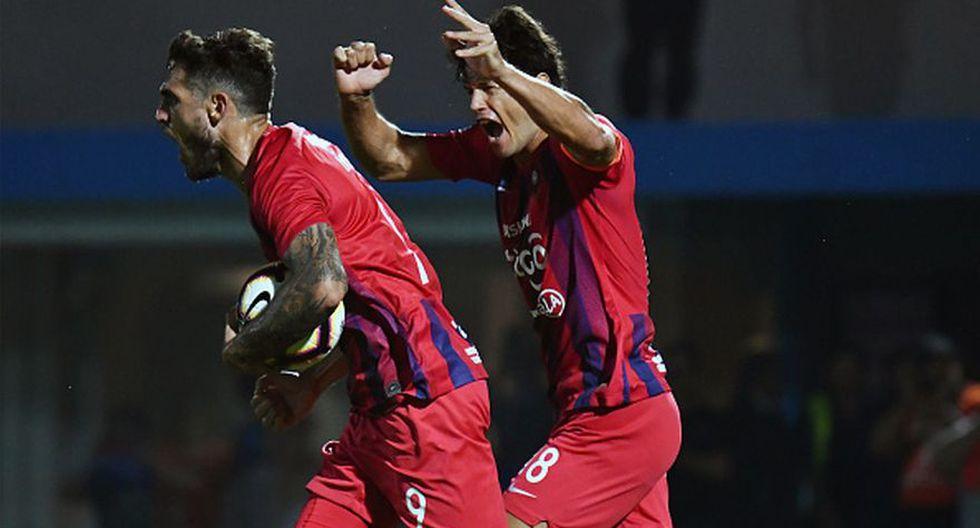 Cerro Porteño venció a San Lorenzo y avanzó a cuartos de Copa Libertadores (Getty Images)