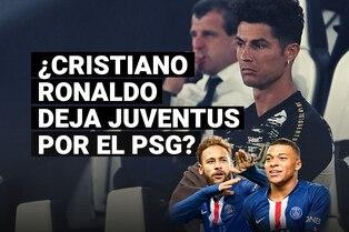 Cristiano Ronaldo no seguiría en Juventus y sueña con llegar al PSG
