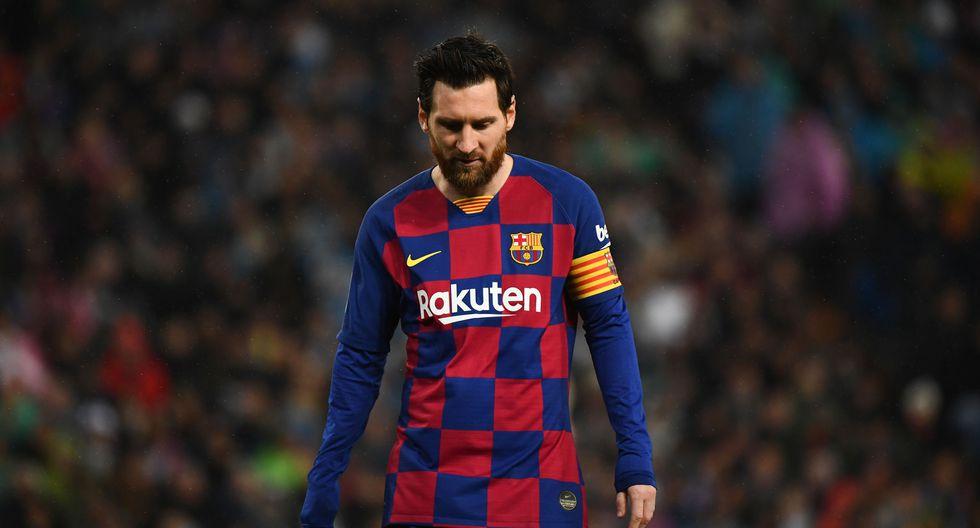 Lionel Messi y el plantel del Barcelona están en cuarentena por el coronavirus. (Foto: AFP)