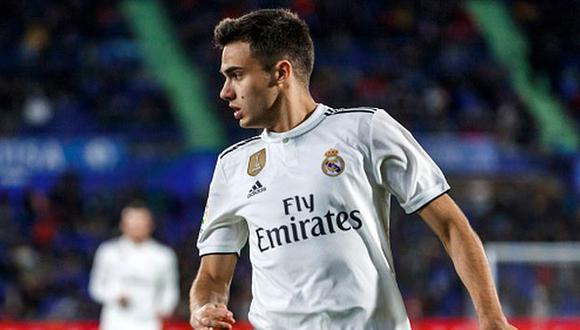 Sergio Reguilón jugó en 2018-19 su primera campaña en Real Madrid. (Foto: Getty)