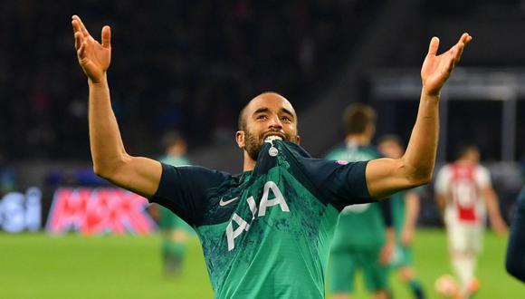 Moura, el héroe del Tottenham en dicha campaña, firmó una extensión de contrato hasta 2024. (Foto: Reuters)