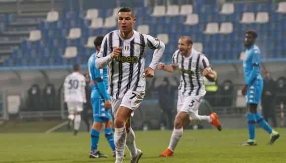 Juventus venció al Napoli con gol de Cristiano y ganó la Supercopa de Italia. (Foto: AFP)