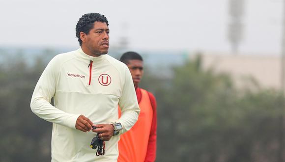 Juan Pajuelo es el actual técnico interino de Universitario de Deportes (Foto: Prensa U).