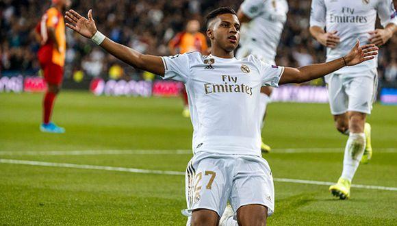 Santos y Real Madrid llegaron a un acuerdo en junio del 2018 por Rodrygo. (Getty)