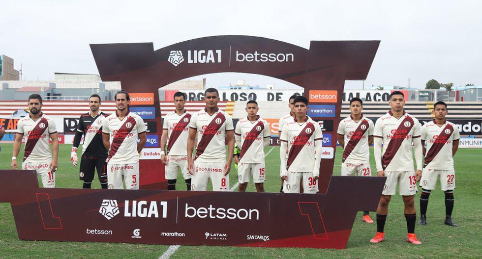 La alineación que alista Universitario para el duelo con UTC (Foto: Liga 1)