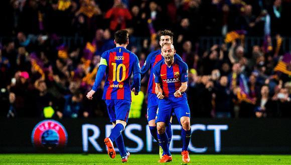 Javier Mascherano desea a Lionel Messi por más tiempo en Barcelona. (Foto: Getty Images)