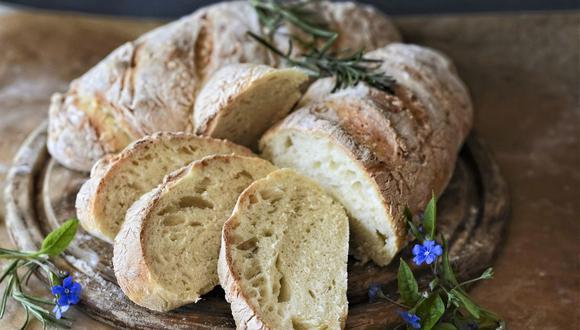 Para preparar pan casero solo necesitas algunos ingredientes de tu despensa. (Foto: Pixabay)