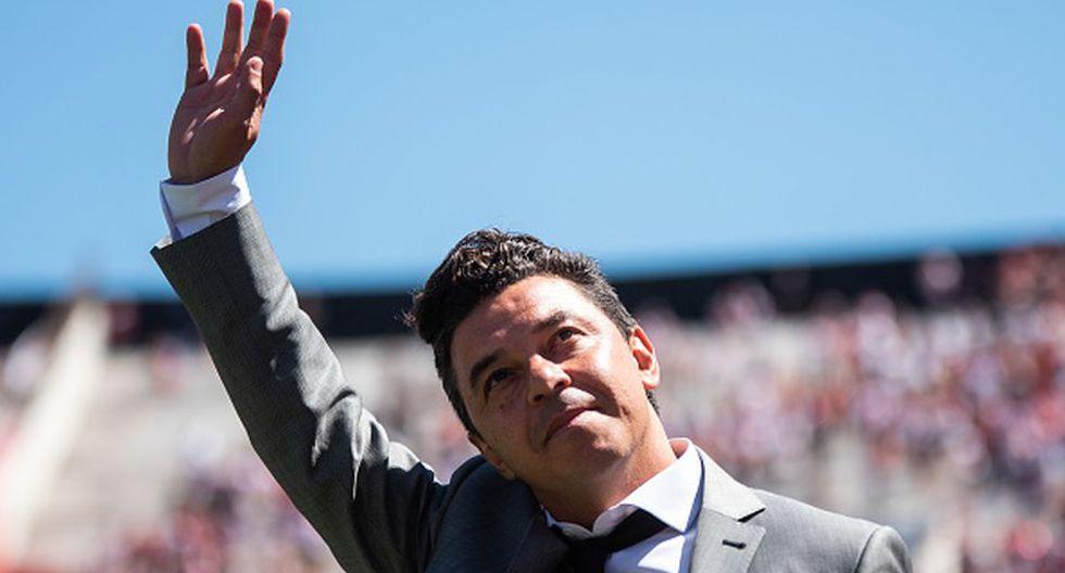Marcelo Gallardo es entrenador de River Plate desde el 2014. (Getty)